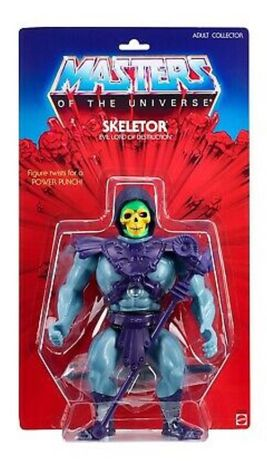 Figura de coleção Skeletor MOTU Giants (Mattel)