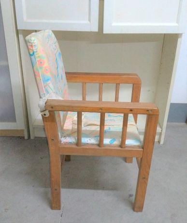 Cadeira Bebé de Madeira