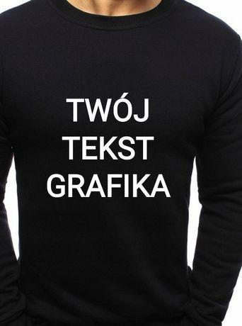 Bluza personalizowana męska