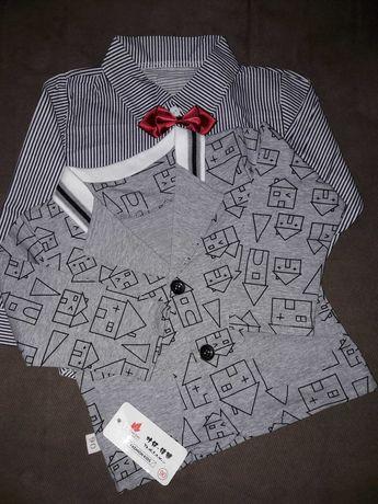 Піджак і сорочка на хлопчика