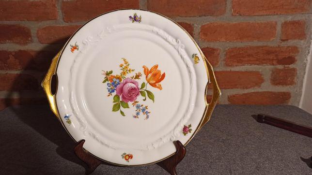 Porcelana Rosenthal Bawaria Patera RARYTAS Złocona