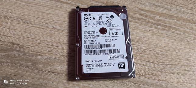 Dysk HDD HGST 1 TB SATA III 2.5 z Ps4 Pro