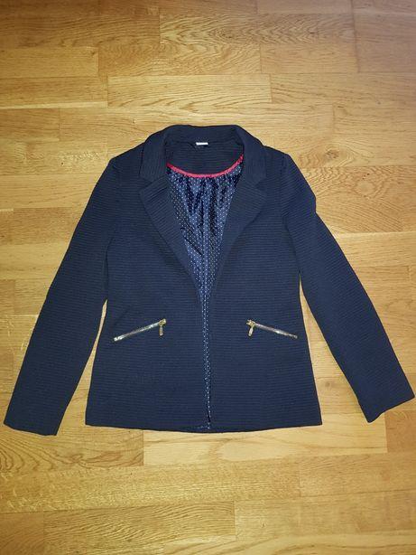 Пиджак темно- синий 7-8 лет