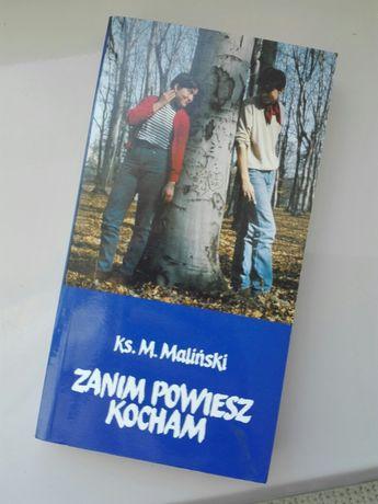 Książka: Zanim powiesz kocham Maliński