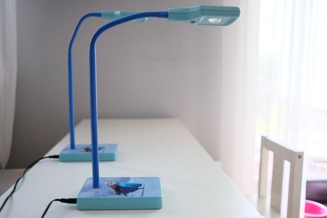Kraina lodu lampka na biurko