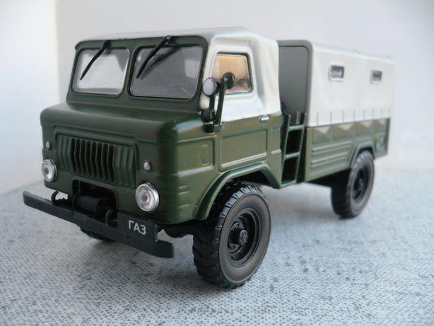 ГАЗ-62 с тентом 1:43 Автолегенды СССР №113