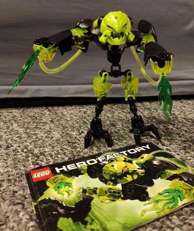 LEGO Hero Factory 6201 - Toxic Reapa - uszkodzona stopa
