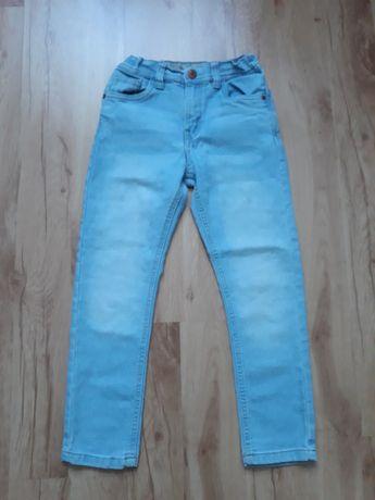 Spodnie dżinsowe dla 6-7 letniego chłopca, roz. 122