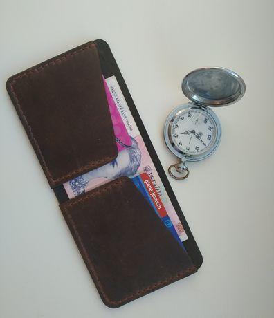 Кожаный кошелек эксклюзив ( ручная работа )