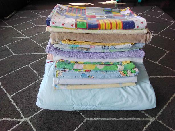 Posciel 135x100  spiworek reczniki pieluszki dla dziecka chłopca