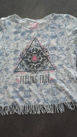 T-shirt ,bluzka Boho rozmiar 158/164