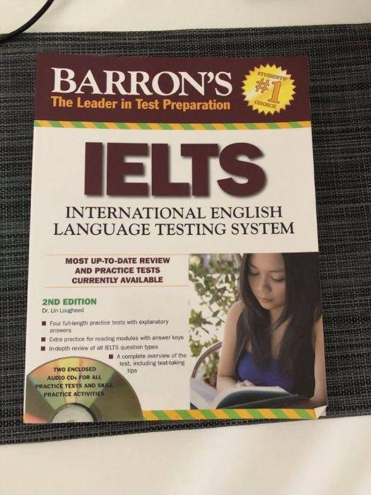 IELTS Barron's test 2nd edition płyta CD podręcznik do egzaminu IELTS Warszawa - image 1