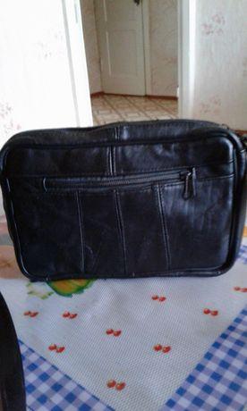 Продам сумку кожаную