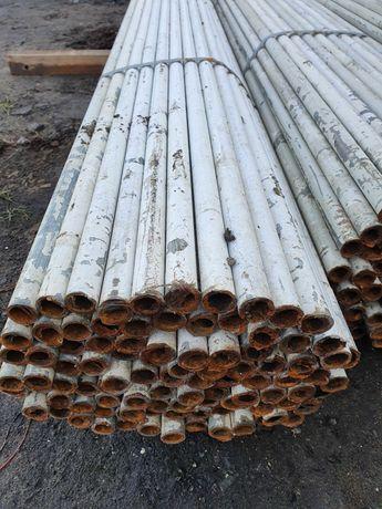Słupek slupek ogrodzeniowy ogrodzenie płot plot fi 51 mm 2 metry