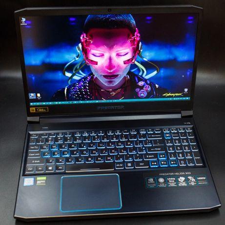 Acer Predator Helios 300 144Hz, i7 9750H, 16Gb, GTX1660Ti, SSD m2 1TB