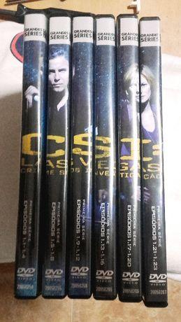 1ª temporada CSI em DVD