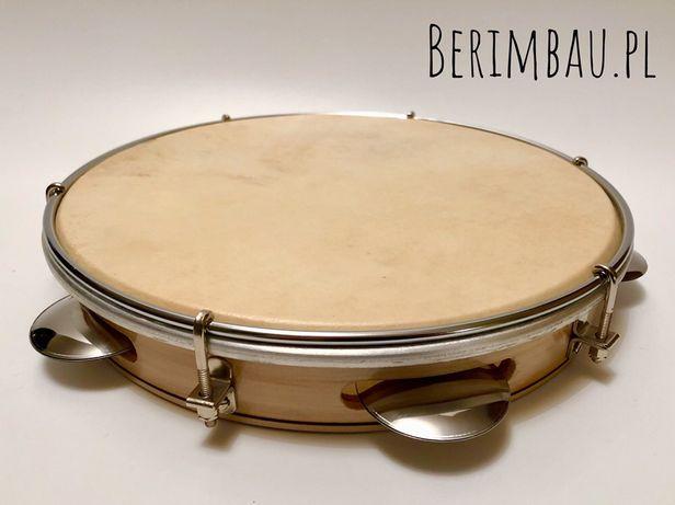 """Pandeiro 10"""" do Capoeira Samba Pagode. Instrument muzyczny z Brazylii"""