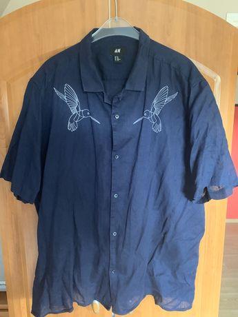 Koszula z krótkim rękawem HM