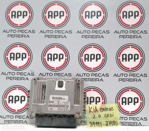 Centralina motor Kia Carens 2.0 CRDI, referência 0281013072,  39113-27485.