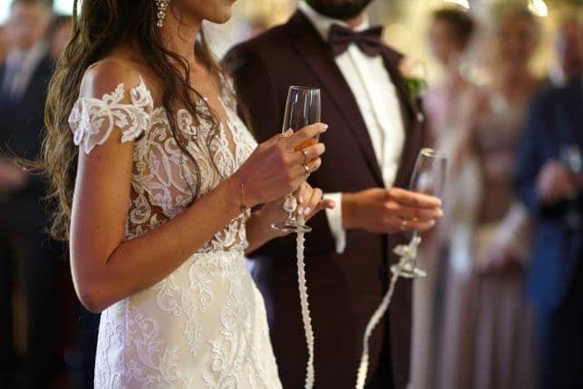 Suknia ślubna Agnieszki Światły