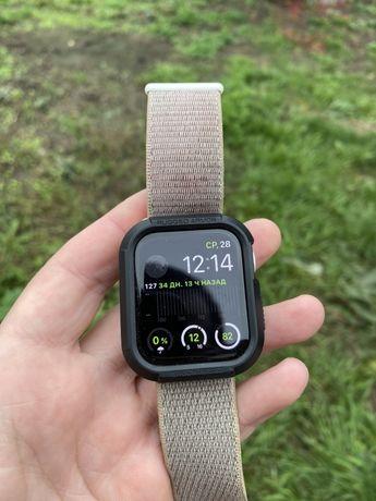 Apple watch 44 mm Alum silver