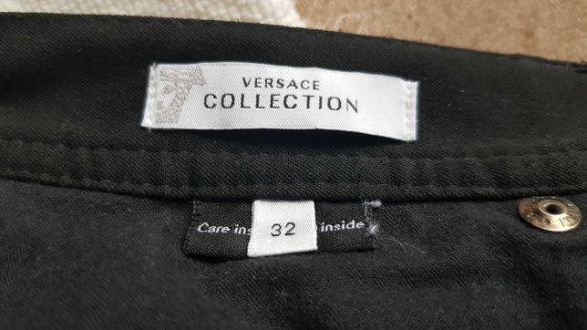 Versace spodnie casual slim
