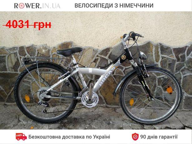 Підлітковий алюмінієвий велосипед Bocas 24 P23 бу / Велосипеды детский