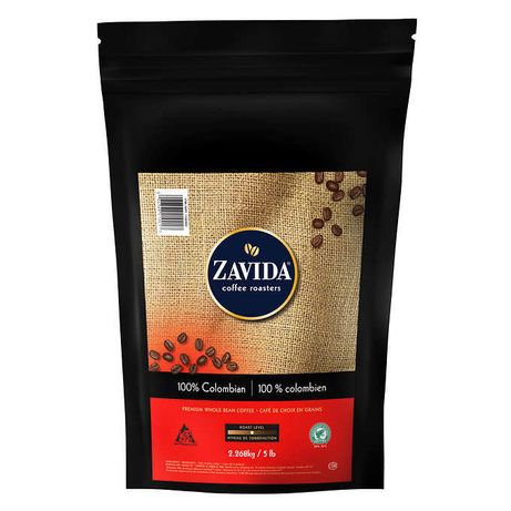 "Кофе Zavida Colombian 100% 2,268 кг ""Колумбия 100%"" Обжарка Средняя"