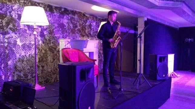 Saksofonista/saksofon na event, impreze, kolacje/ DJ