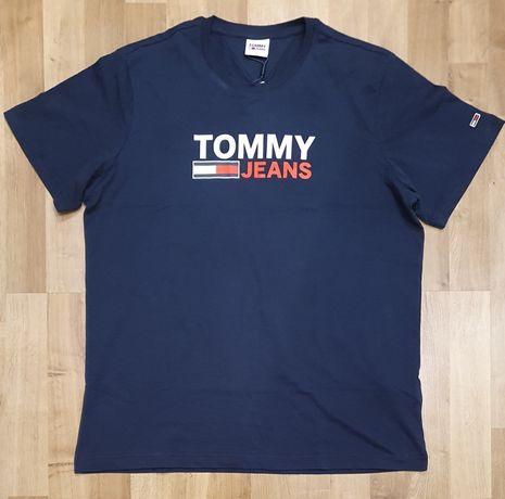 Nowa męska koszula t-shirt Tommy Jeans rozmiar L
