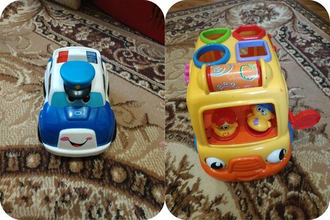 Машинка сортер и полицейская