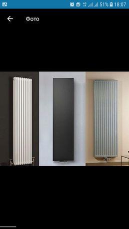 Вертикальные радиаторы Вертикальні дизайнерське ботареї