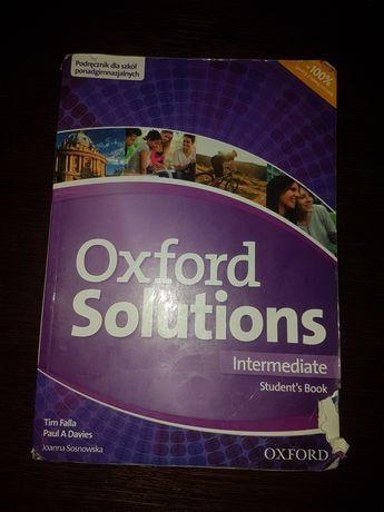 Podręcznik angielski Oxford Solutions Technikum/Liceum