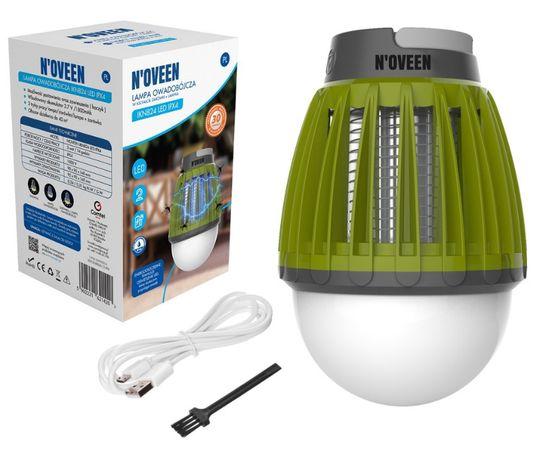 lampka owadobójcza lampa 2w1 bezprzewakumulator ipx4 turystyczna