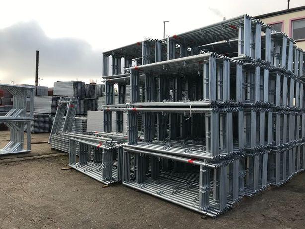 Rusztowanie typ PLETTAC 200 m2 rusztowania fasadowe nie UŻYWANE