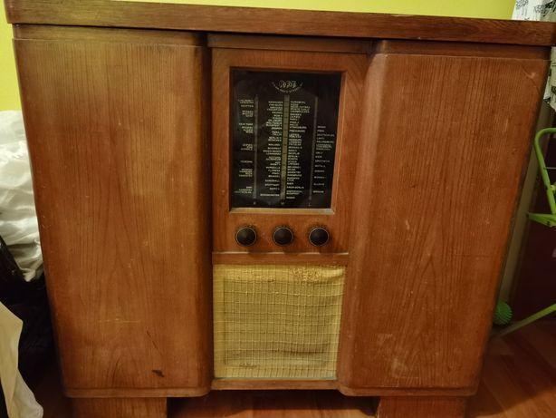 Radiola radio gramofon musikschrank Stern
