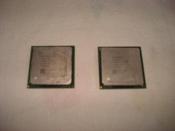 2 Processadores Intel - Celeron e Pentium 4