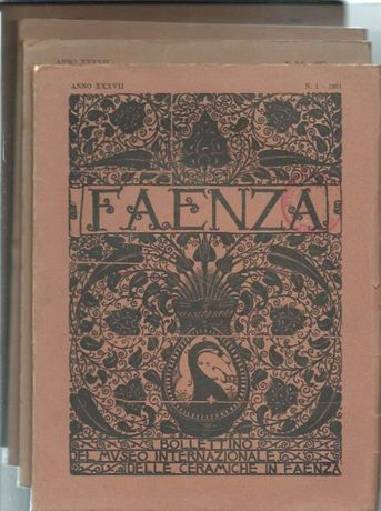Faenza – Bolletino del Museo Internazionale delle Ceramiche - 1951