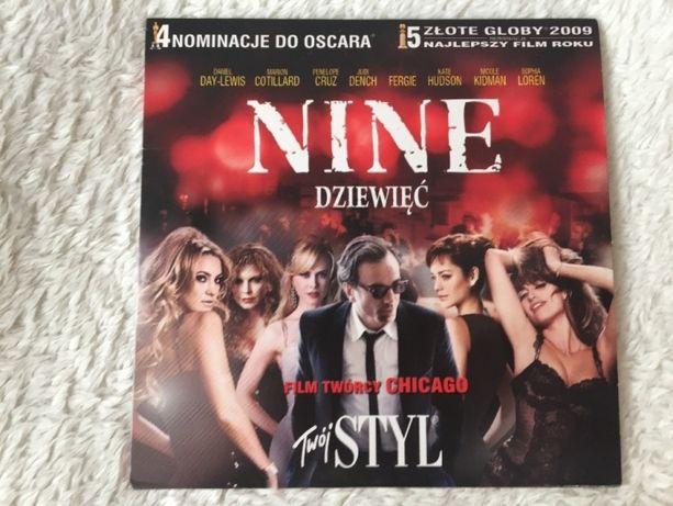 Nine Dziewięć film DVD nowy