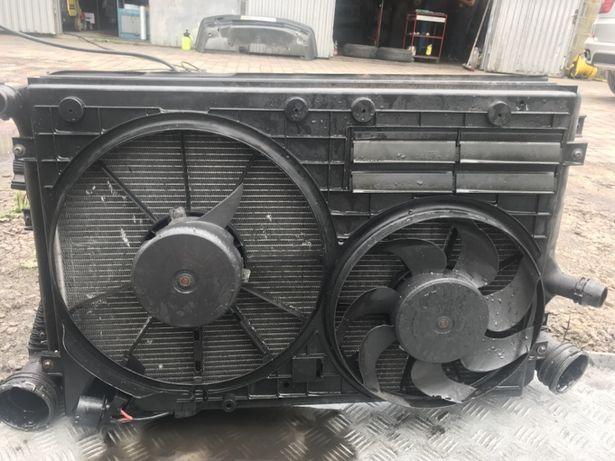 Радиатор диффозор до VW golf V, гольф 5,6 Passat b6 Пассат