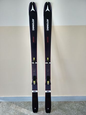 Nowe narty skiturowe Atomic Backland UL 85 wiązania ATK skistop