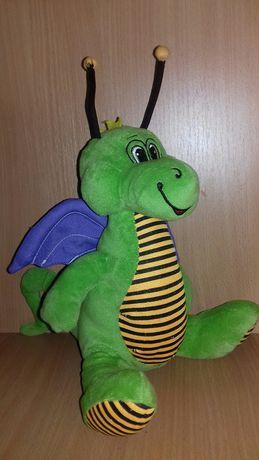 Динозавр дракон мягкая игрушка дракончик трицератопс дракоша