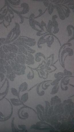 Tapeta grafit  rolka kwiaty