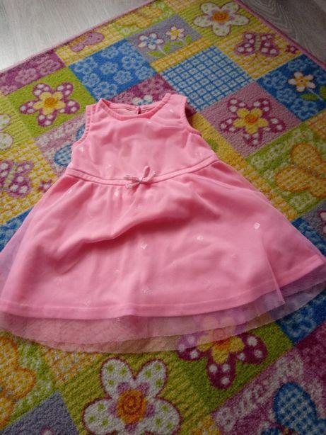 Sukienki rozmiar 74