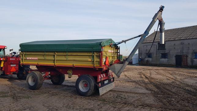 Przyczepa bergmann 8 ton