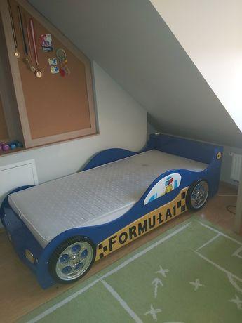 Łóżko dla dziecka auto formuła 1