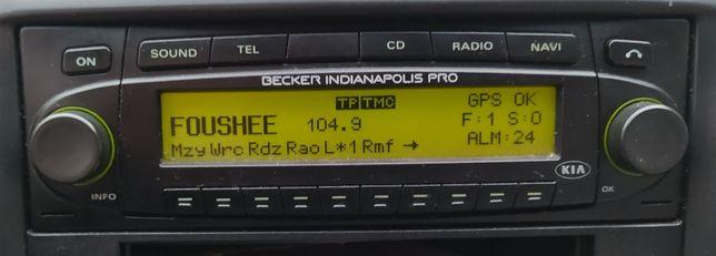 Radio Nawigacja CD MP3 Becker Indianapolis Pro Sprawne z Kodem
