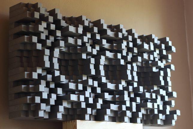 Dyfuzor akustyczny QRD 2D N19x2 Skyline panel DUŻY