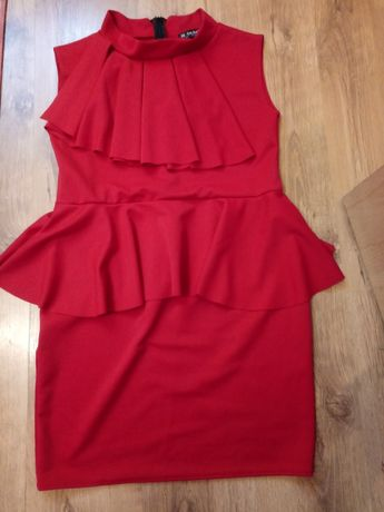 Czerwona sukienka rozm. XL