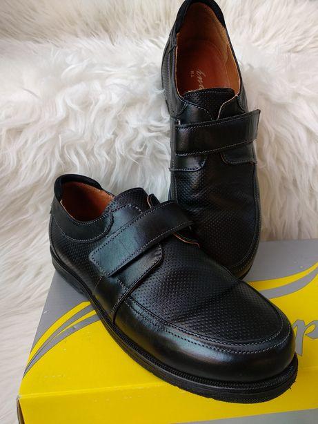 Кожаные туфли р.36